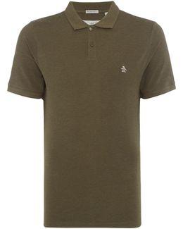 Raised Rib Polo Shirt