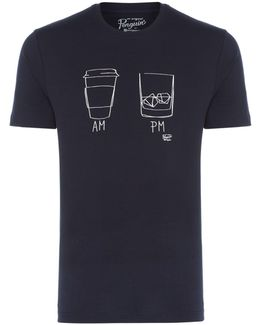 Men's Am To Pm Crew Neck T-shirt