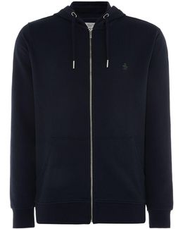 Men's Raised Rib Pique Hoody