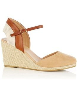 Aimee Open Back Wedges