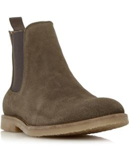 Cowes Sleek Suede Chelsea Boots