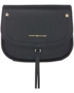 Tommy City Leather Saddle Bag