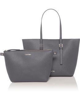 Solid Marissa Medium Tote Bag