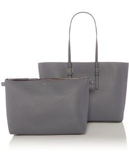 Solid Marrisa Large Tote Bag