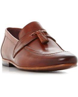 Grafit Double Tassel Loafer Shoes