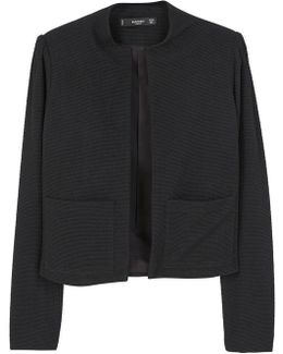 Structured Textured Blazer