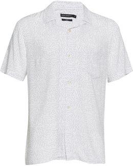 Matchstick Memphis Cuban Collar Shirt