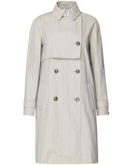 Carol Metallic Trench Coat