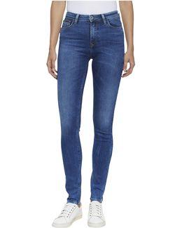 Skinny Santana Protective Coat Jeans