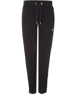 All Metal Gold Detail Joggers