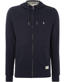 Loop Back Hooded Marl Sweatshirt