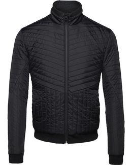 Ofab Padded Bomber Style Jacket