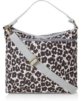 Baby Girl Leopard Flower Changing Bag