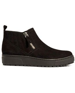 Suede Trainer Boots