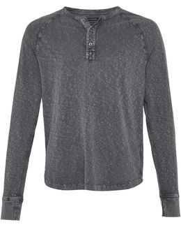 Garment Dyed Slub Jersey Top