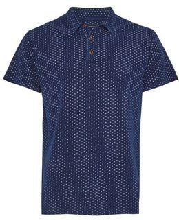 Dojo Dot Printed Short Sleeved Top