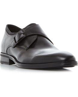 Shockwave Single Buckle Monk Shoes