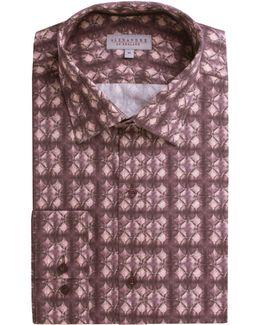 Leven Pink Circles Shirt