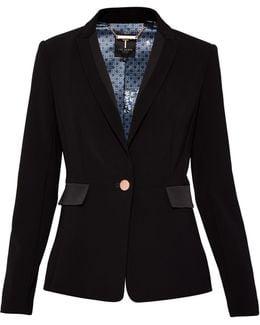 Shili Ottoman Suit Jacket