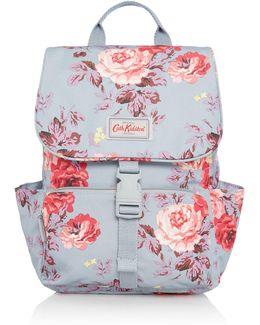 Antique Rose Buckle Backpack