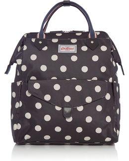 Button Spot Frame Backpack
