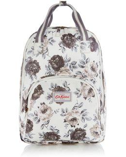 Oakworth Bloom Floral Multipocket Zip Backpack
