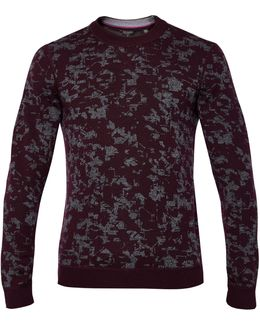 Gelato Interest Jacquard Jumper