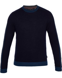 Men's Politan Colour Block Jumper