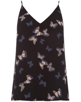 Butterfly Front And Back Cami