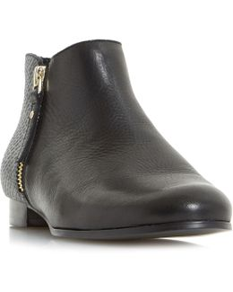 Panders Smart Cropped Ankle Boots