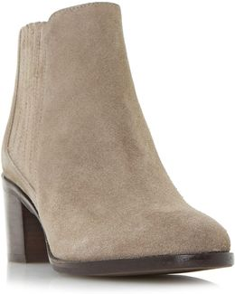Peter Chelsea Block Ankle Boots