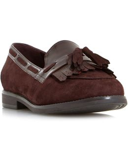 W Goodness Wide Fit Fringe Tassel Loafers