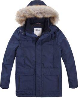 Men's Technical Faux Fur Parka