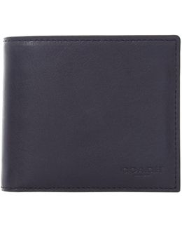 Sport Calf Compact Id Leather Wallet