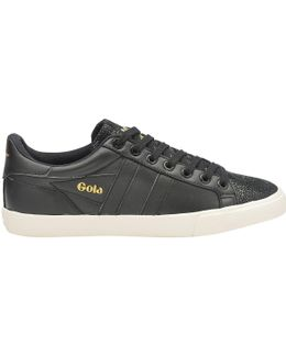 Orchid Fracture Lace Up Trainers