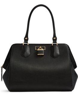Tagua Top Handle Bag