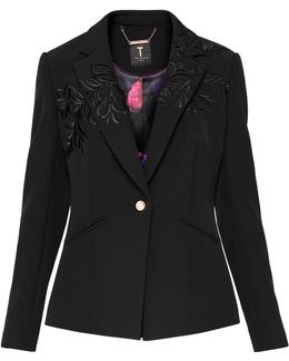 Oibia Embroidered Suit Jacket