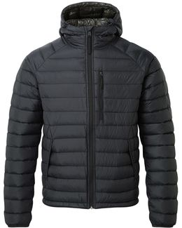 Pro Mens Down Hooded Jacket