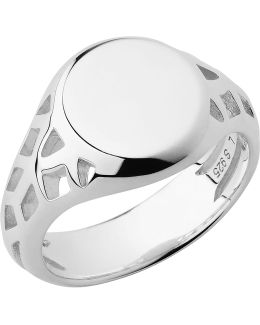 Timeless Sterling Silver Signet Ring