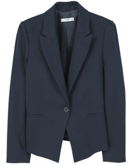 Structured Cotton Blazer