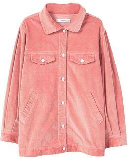Corduroy Oversize Jacket