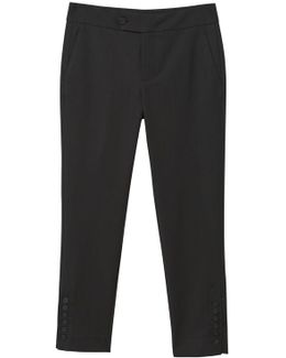 Buttom Cotton Trousers