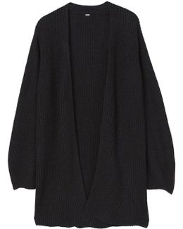 Puffed Sleeves Cardigan