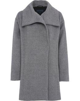 Bennie Wool Wide Collar Coat
