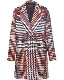 Beverley Check Long Sleeved Coat