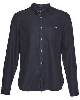 Classic Flannel Plain Shirt
