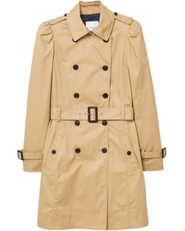 Puffed-shoulder Trench