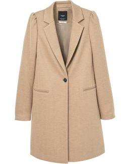 Puffed Sleeves Coat