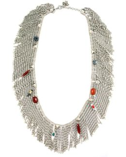Anubian Jewels Fringe Necklace