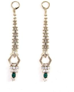Anubian Jewels Mesh Earrings